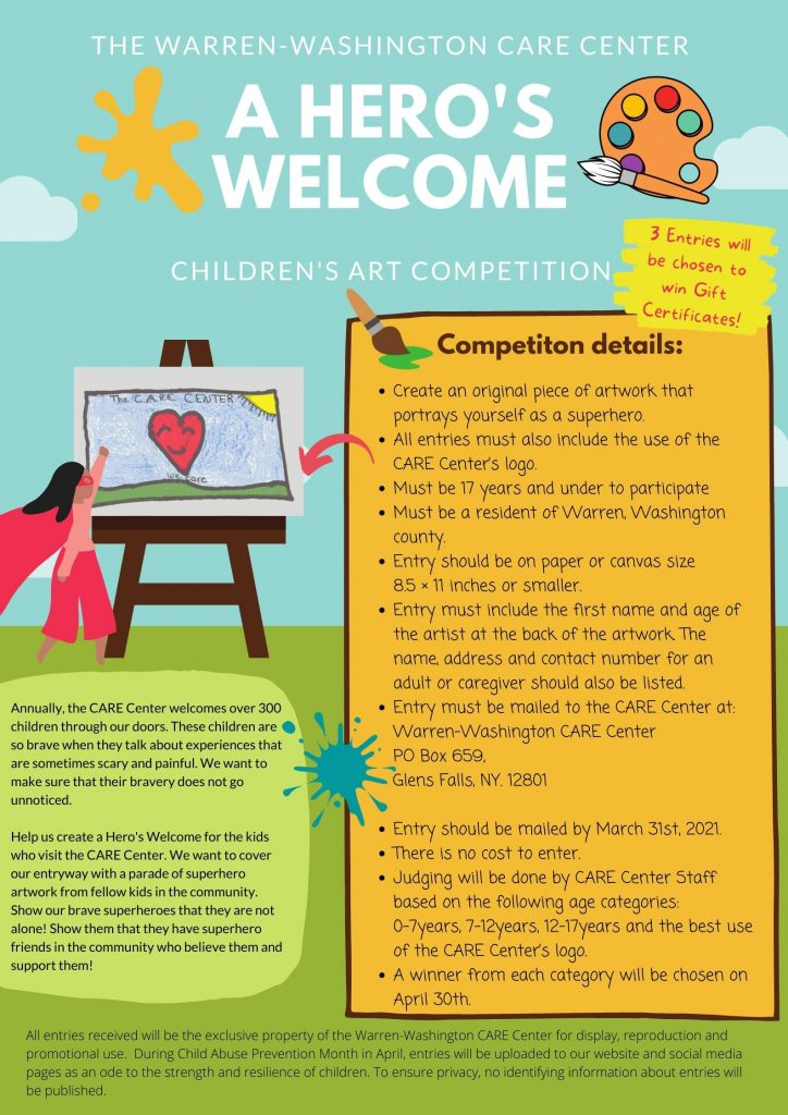 Children's Art Competition : A Hero's Welcome