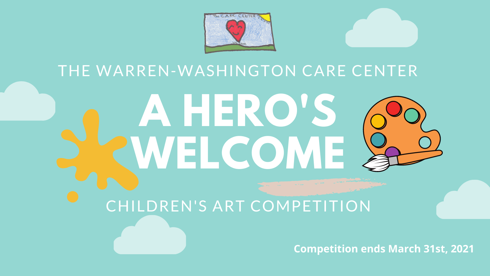 WW CARE Center Art Competition : A Hero's Welcome